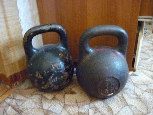 16 и 24 кг