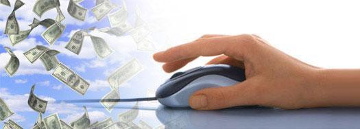 компьютерная мышь и рука