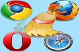 как очистить кэш и куки браузера
