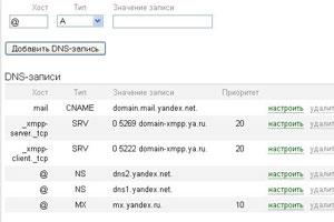 Делегирование домена