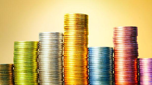 Деньги в монетах