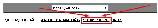 html код счетчика внизу страницы