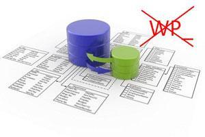 Как изменить префиксы базы данных