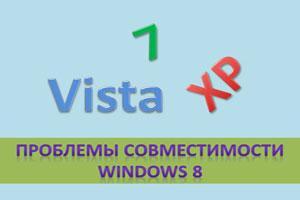 проблемы совместимости windows 8