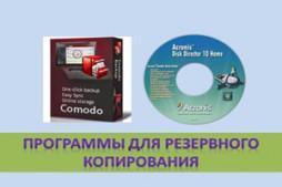 Программы для резервного копирования