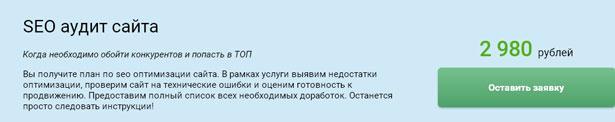 Аудит от компании 1PS.ru