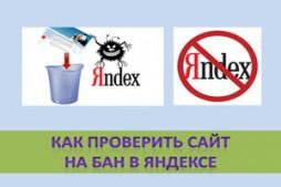 Как проверить сайт на бан в яндексе