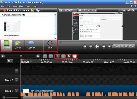 Обработка видео в camtasia
