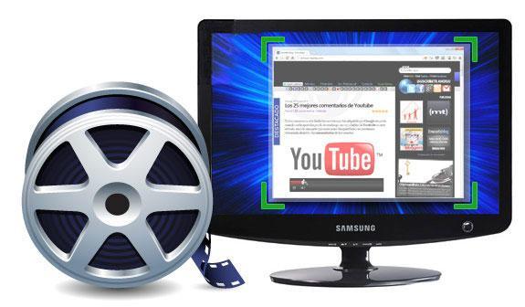 съемка видео с экрана монитора