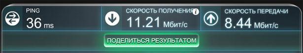 Параметры интернета