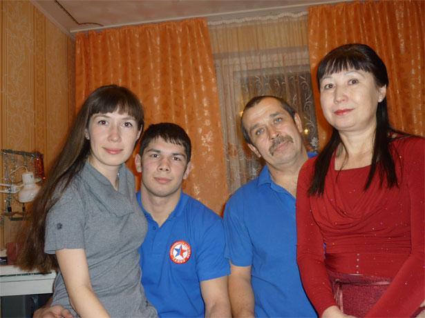 Моя семья в Новый год