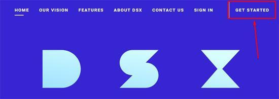 егистрация на DSX